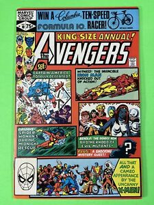 Avengers Annual 10  - 1st Appearance of  Rogue Marvel Comic 1981
