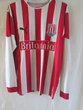 Stoke City 2006-2007 Home Football Shirt Size Small Long Sleeves /8077