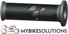 MotoGP Motocicleta Moto Carrera Manillar 22/25 mm agarre la cubierta Negro Gris