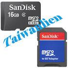 SanDisk 16GB 16G Class4 Micro SD SDHC MicroSDHC Card TF
