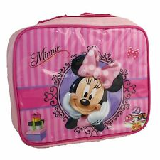 Disney Minnie Mouse Insulated Lunch Bag Cool Bag - Pink- Back to School - Picnic