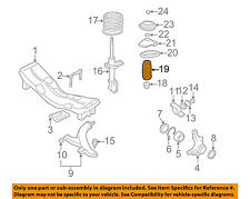 SUBARU OEM 09-15 Forester Front Suspension-Dust Shield 20322AE01A