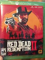 Red Dead Redemption 2 - Standard Edition (Microsoft Xbox One, 2018)