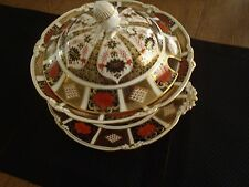 ROYAL CROWN DERBY OLD IMARI  SOUP TUREEN AND UNDERPLATE
