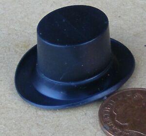 Plastic Top Hat 3cm x 3.5cm x 1.7cm High (1.7cm Internal) Tumdee Dolls House L