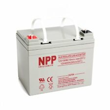 NPP 12V 35Ah 40Ah 150W High Rate AGM Deep Cycle SLA Long Life UPS Battery
