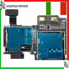 FLAT Flex LT Galaxy S4 i9505 lettore SIM Micro SD Memory card Per Samsung S4
