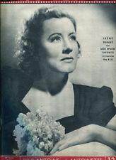 CINE-MIROIR N°865. IRENE DUNNE: MON EPOUSE FAVORITE. 1947.