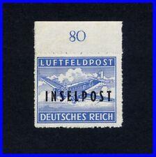 Deutsche Reich_Feldpost / Inselpost_RHODOS_ Mi. Nr. 8 B I *_Befund Petry BPP