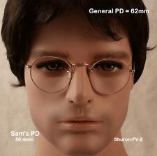 SHURON HIBO Ful-Vue True Antique 12K Gold Fill Eyeglasses & Case