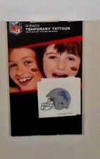 NFL DETROIT LIONS 4 TEMPORARY TATTOOS FAST FREE SHIPPING