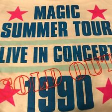 New Kids On The Block T Shirt Vintage 90s  Large 1990 Sold Out Tour Concert