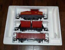Märklin Gauge 1 Diesel Locomotive + 2 Train Cars