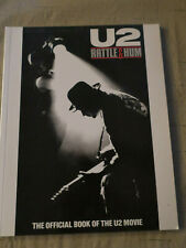 U2 Rattle And Hum The Official Book Of The Movie Soft Cover
