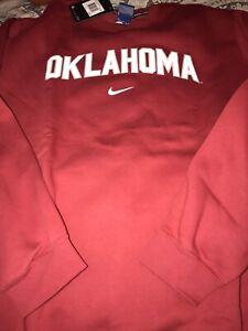 NCAA Oklahoma Sooners Succeed Jersey Fleece Pullover Mens