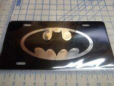 Batman car tag/ license plate (mirror logo)