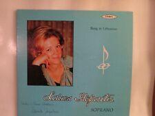 LAIMA STEPAITIS SOPRANO ALOYZAS JURGUTIS PIANO SUNG IN LITHUANIAN N/M STEREO LP