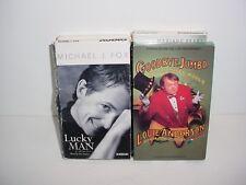 Lot of 4 Autobiography Cassette Tape Audio Books