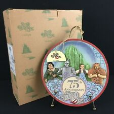 Jim Shore Wizard of Oz 75th Anniversary Plate and Stand Enesco 4037539