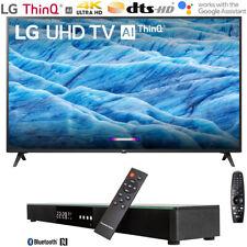 "LG 55UM7300PUA 55"" 4K HDR Smart LED IPS TV w/ AI ThinQ (2019) + Soundbar Bundle"