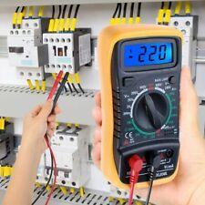 XL830L LCD Digital Multimeter Voltmeter Ammeter AC DC Circuit Buzzer+Test Leads