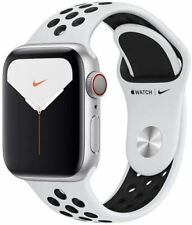 Apple Watch Nike Series 5 GPS + 4G, 40mm, Aluminio Plata, Correa deportiva