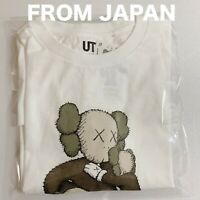 KAWS x Uniqlo Clean Slate Shirt Tee White Size Medium Men's New UT M NEW