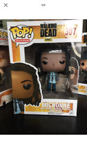 FUNKO POP The Walking Dead Michonne nº307  + Kdo Porte Clé Funko Pop Daryl