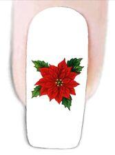 Weihnachtsstern -1 Wraps Nail Art Tattoo Sticker Decal Fingernägel Fuß-Nägel Auf