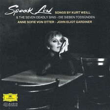 Anne sofie de loutres-speak Low (chansons by Kurt ignore) John Eliot Gardiner Nouveau