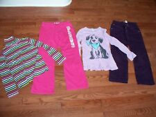Lots of 4 Pcs Girls Outfits, size 10, Pre-onwed