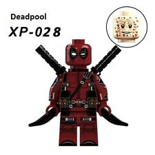 Lego Marvel Super Heroes XP 028 Deadpool 2 Action Figures Building Blocks Toy