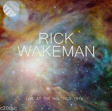 RICK WAKEMAN - LIVE AT THE MALTINGS 1976, ORG 2015 UK CLEAR vinyl 2LP, SEALED