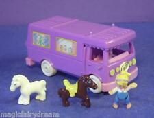Polly Pocket Mini ♥ Süßes Pferde Auto ♥ Stable on the Go ♥ 100% Complete ♥ 1994
