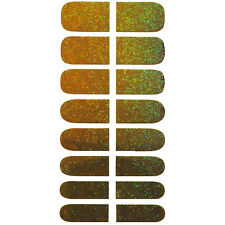 Innovate Gold Glitter Shine Nail Art Decoration Self Adhesive Sticker Decals