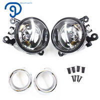Clear Lens Driving Fog Lights Bumper Lamps+Bulbs For 2012 -- 2014 Ford Focus