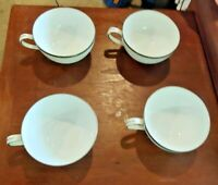 Four fukagawa arita 900p replacement cups tea coffee Hand painted Japan