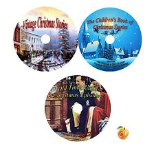 Christmas Series 3 CD DVD set, Books Children's Stories Old Time Radio Audio