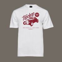 T-Shirt Top Chop | Rockabilly Kustom Hot Rat Rod Flathead V8 US Car S - 5XL