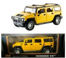2003 HUMMER H2 YELLOW MAISTO 1:18 DIECAST SPECIAL EDITION No 30631