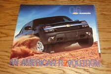 Original 2006 Chevrolet Avalanche Deluxe Sales Brochure 06 Chevy