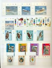 Pitcairn Islands 1966 1986 all set complete Churchill turtle wedding MNH ** Mint