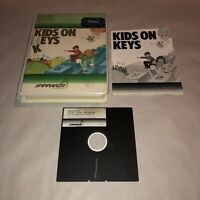 HTF Commodore 64 & 128 Computer Game KIDS ON KEYS Complete CIB UNTESTED