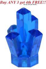 ☀️NEW LEGO TRANS DARK BLUE 5 Point pt Crystal Cave translucent Rock Gem Jewel