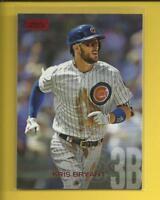 Kris Bryant 2018 Topps Stadium Club RED FOIL Card # 201 Chicago Cubs 3B MLB