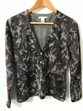 Sarah Spencer Lambs Wool, Angora Ladies Cardigen S
