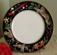 "Lynn Chase Designs JAGUAR JUNGLE 12"" Service Plate or Charger"