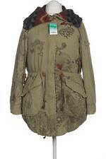 Desigual Mantel Damen Jacke Parka Gr. DE 44 Baumwolle grün #87c77c3