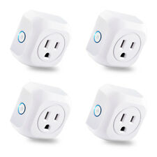 4pcs Smart WIFI APP Remote Control Timer Switch Power Socket Outlet US Plug