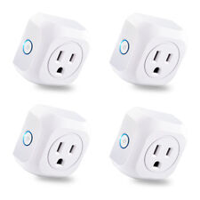 4 Pack WiFi Smart Plug APP Remote Control Timer Outlet Wireless Socket US Plug